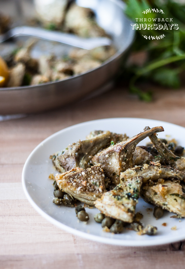 Artichoke Gratin | bloggingoverthyme.com