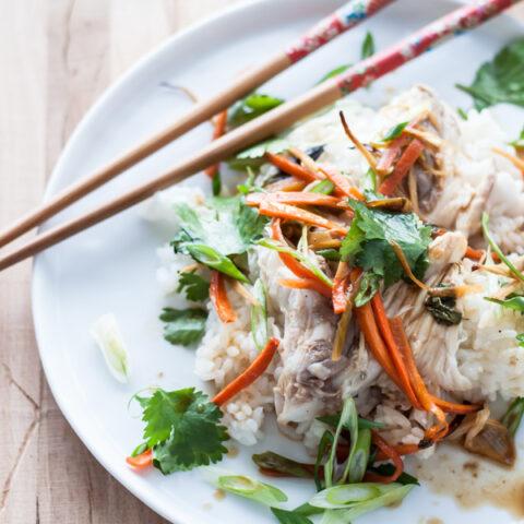 Asian-Style Baked Rockfish | bloggingoverthyme.com