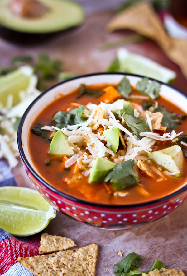 Classic Mexican Tortilla Soup An Easy Authentic Soup Recipe This Soup Is Loved By