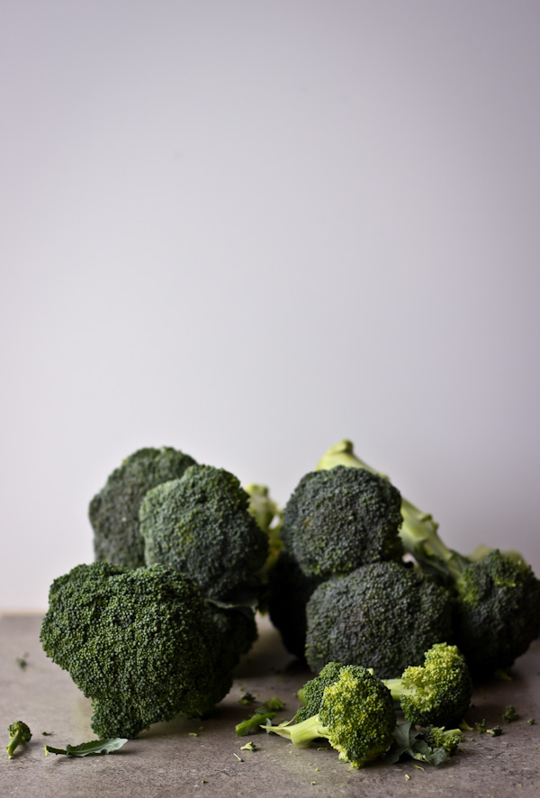 Roasted Broccoli with Toasted Almonds, Lemon, and Pecorino Cheese - A ...