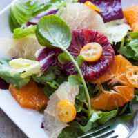Citrus Salad with Bitter Greens