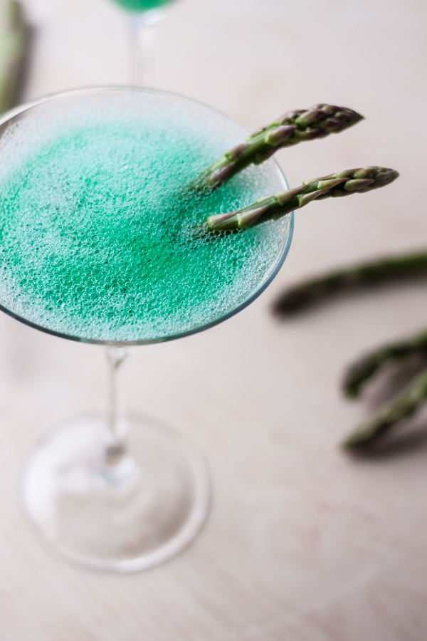 April Fool's Cocktail | bloggingoverthyme.com