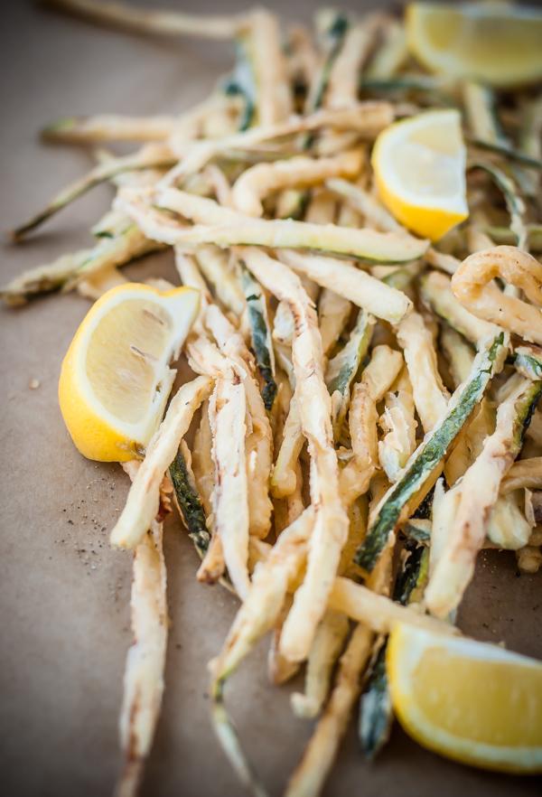 Shoestring Zucchini Fries