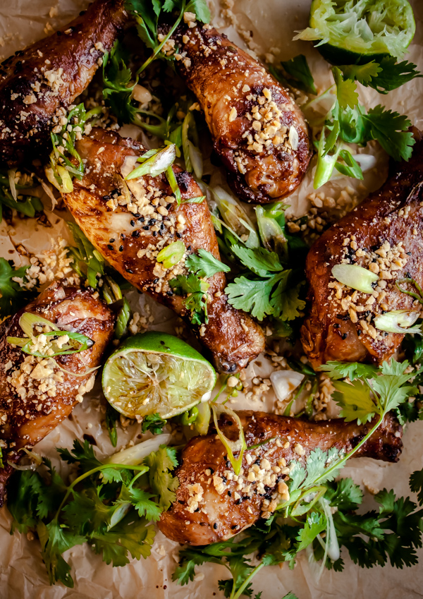 Spicy peanut ginger drumsticks a beautiful plate spicy peanut ginger drumsticks forumfinder