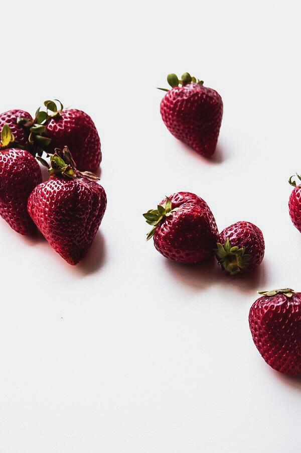 Classic Pound Cake with Fresh Strawberry Glaze   bloggingoverthyme.com