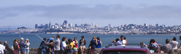 San Francisco Skyline   bloggingoverthyme.com
