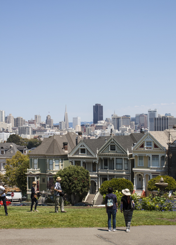Alamo Square | bloggingoverthyme.com