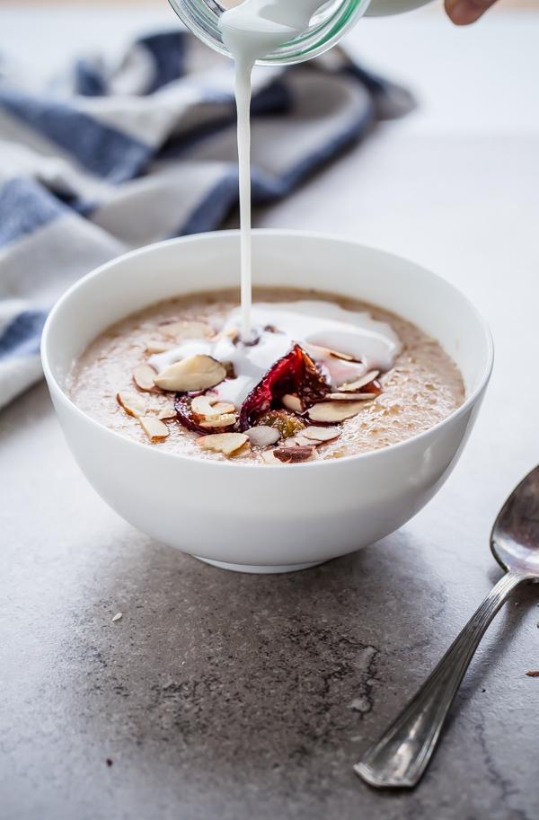 Broken Farro Porridge