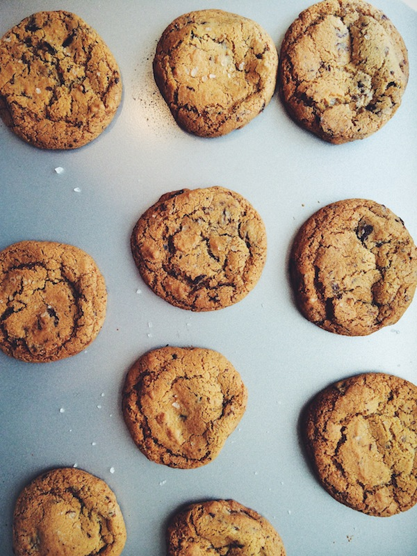 Chocolate Chip Cookies | bloggingoverthyme.com