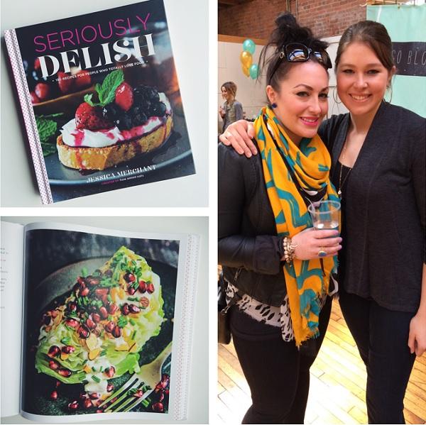 Seriously Delish Cookbook Giveaway | bloggingoverthyme.com