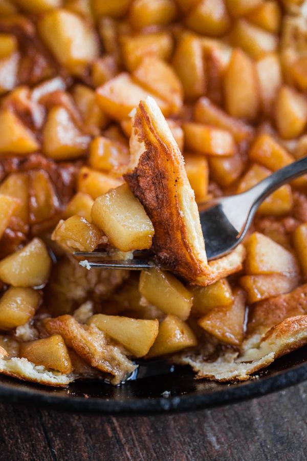 Souffle pancake with cinnamon apples a beautiful plate souffle pancake with cinnamon apples ccuart Choice Image