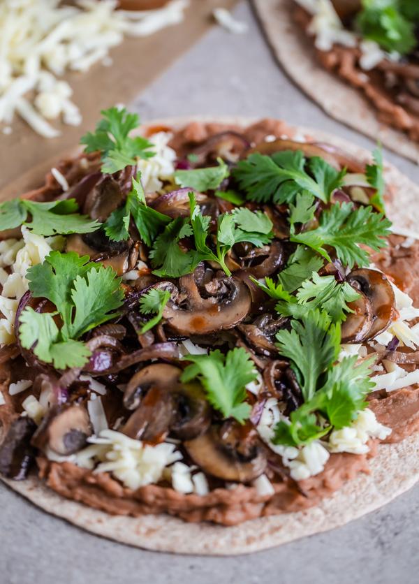 30-Minute Weeknight Veggie Quesadillas