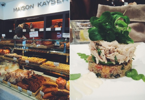 Lunch at Maison Kayser