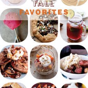 Top 12 Fall Favorites
