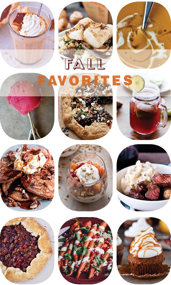 Top 12 Favorite Fall Recipes