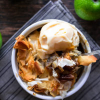 Individual Phyllo Apple Walnut Pies