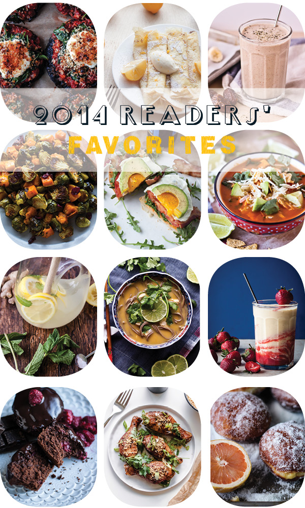 Readers' Favorite Recipes of 2014