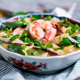 Asian Shrimp and Noodle Soup