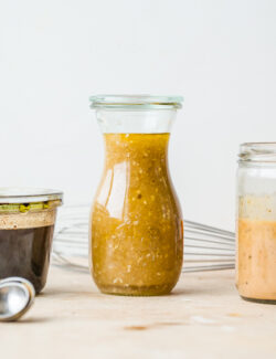 3 Easy Everyday Salad Vinaigrettes