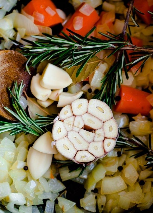 Vegetables for Pot Roast
