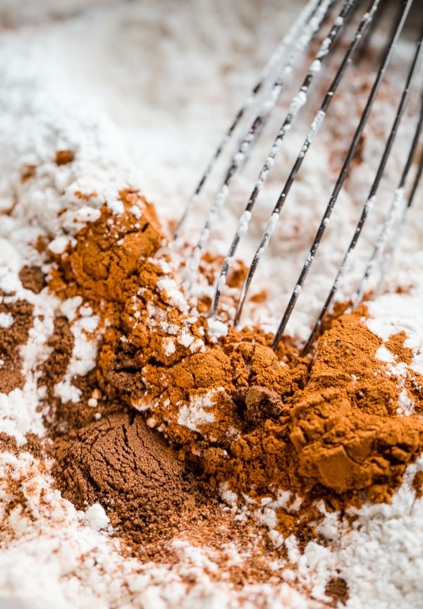 Flour with Cinnamon and Spices