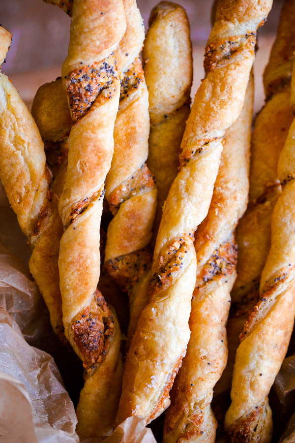 Everything Bagel Cheese Twists