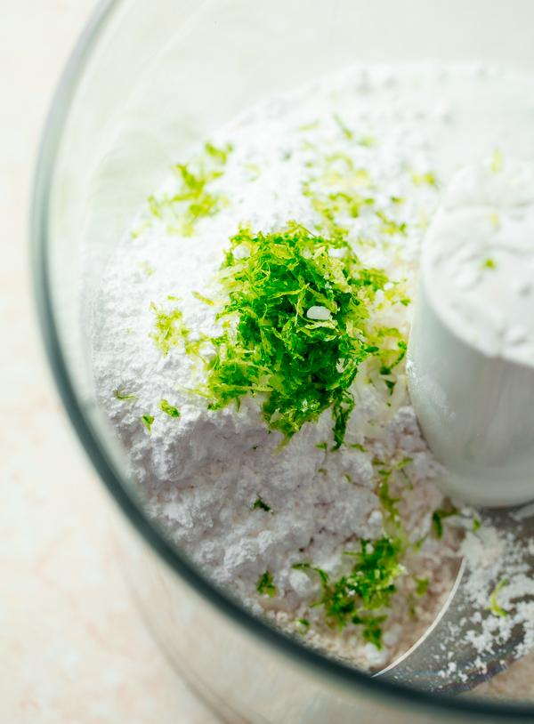 Flour with Lime Zest