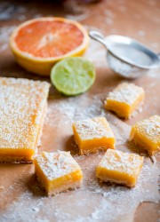 Four Citrus Coconut Bars