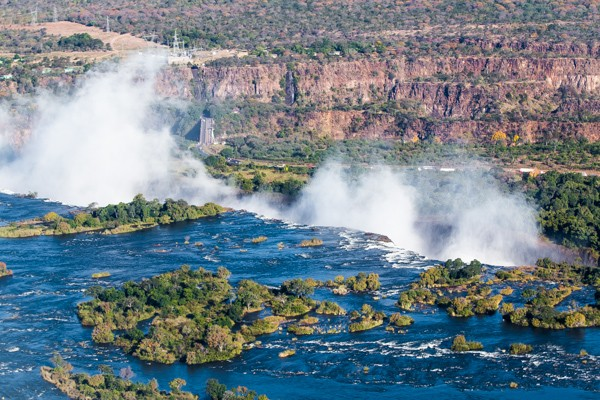 """Victoria Falls Helicopter Ride """"Flight of the Angels"""""""