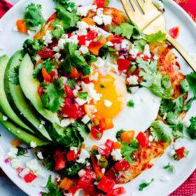 Mexican Potato Tartine
