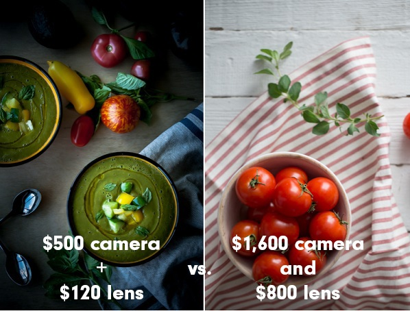Entry Level DSLR vs. Full-Frame Camera Photography Example