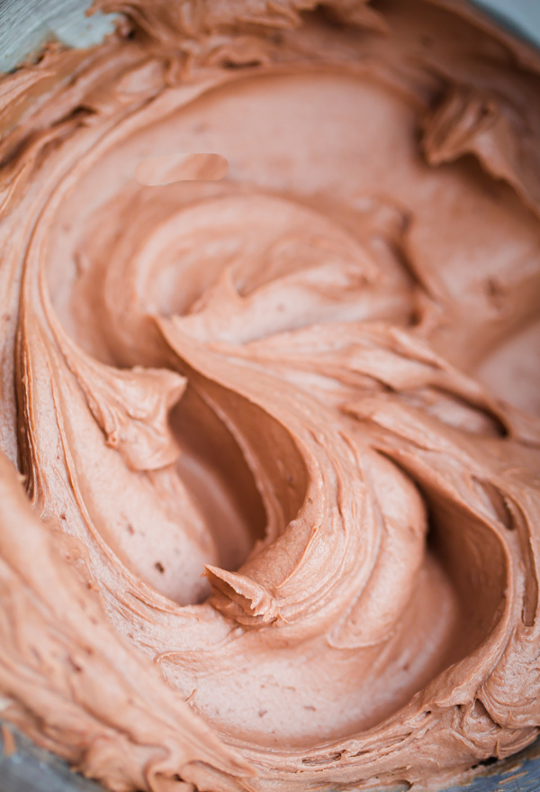 Chocolate Buttercream Filling for Tim Tams