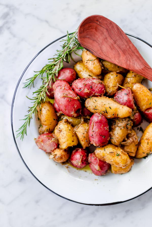 Braised Fingerling Potatoes