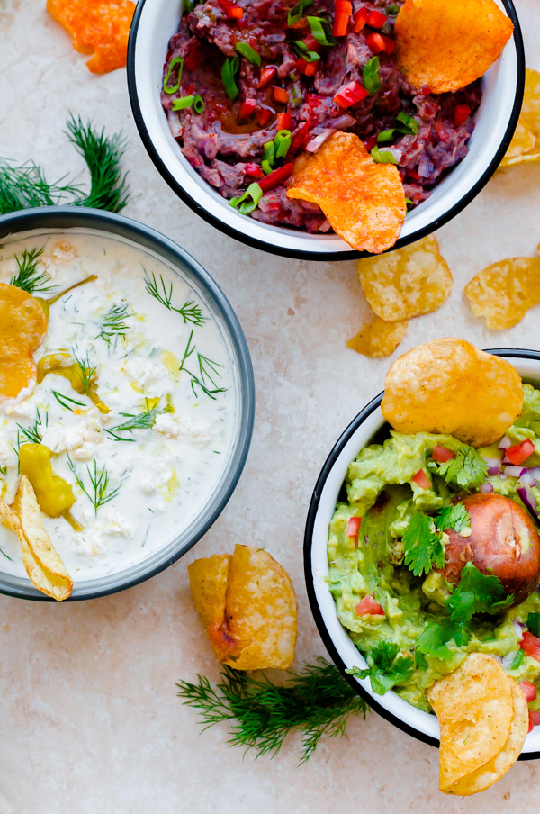 Three easy and flavor-packed homemade dip recipes to serve at your next tailgating party!