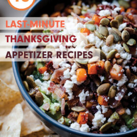 10 Last-Minute Thanksgiving Appetizer Recipes - easy and simple appetizers that will impress!