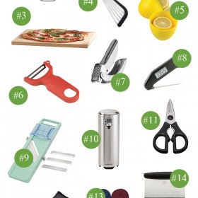Favorite Kitchen Gadgets Gift Guide - 17 gift ideas for food lovers and home cooks!