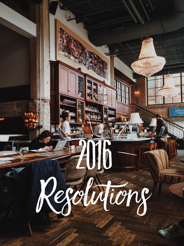 A Beautiful Plate - 2016 Resolutions!