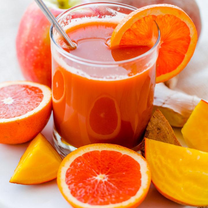 Orange Ginger Splash Pressed Juice