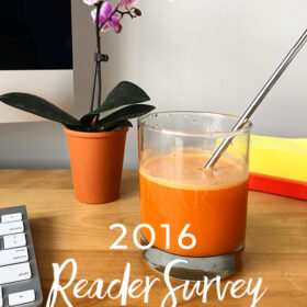 2016 Reader Survey - A Beautiful Plate