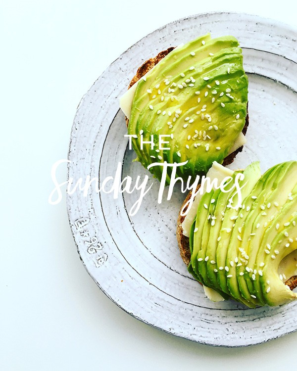 The Sunday Thymes - my favorite links from around the web!