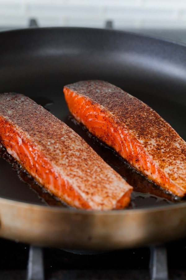 Chili Salmon Fillets