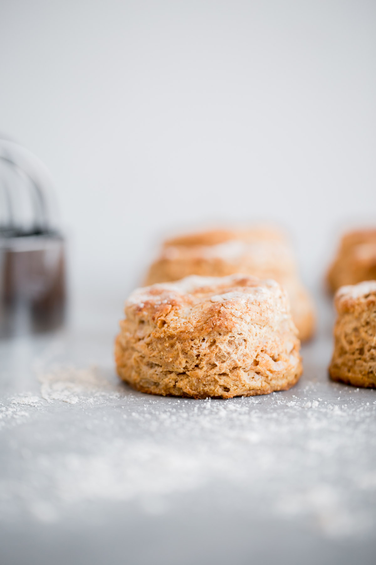 Easy Whole Wheat Biscuits - A Beautiful Plate