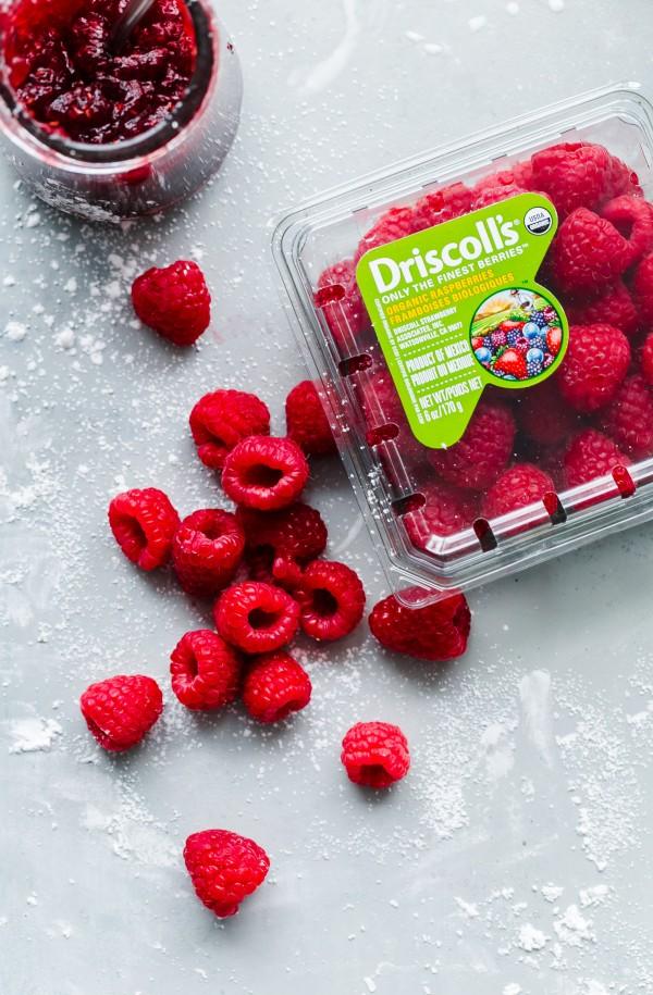Raspberry Roll Cake