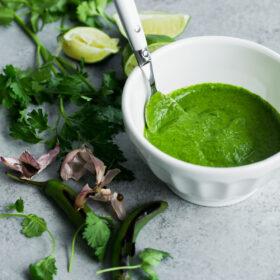 Green Chile Adobo Sauce
