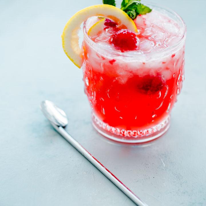 Kombucharita Punch. A refreshing summer cocktail made with kombucha!