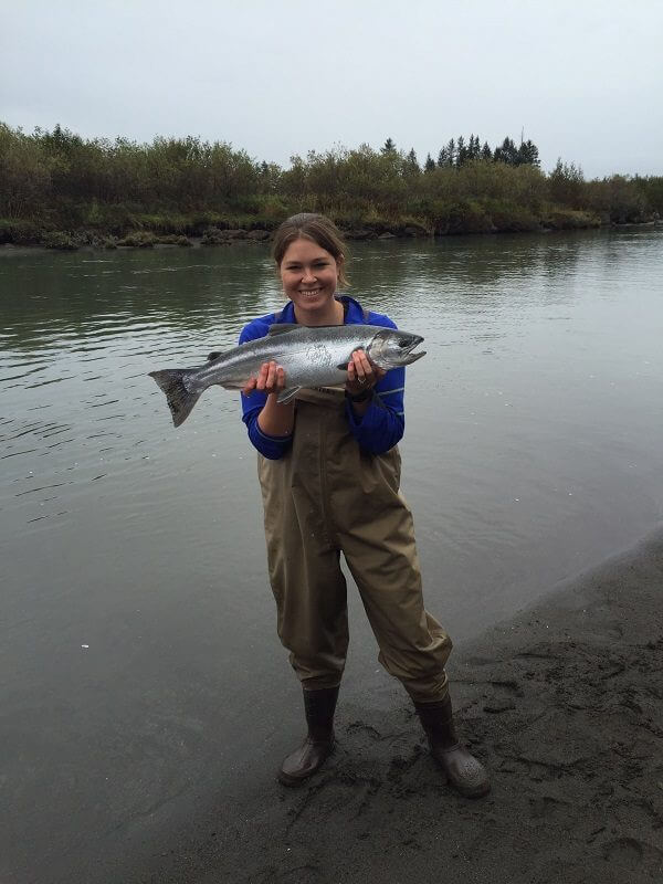 Copper River Salmon fishing