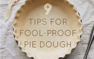 9 Tips For Fool-Proof Homemade Pie Dough. No more shrinking, tough pie crusts!The key to great homemade pie in these simple, important steps.