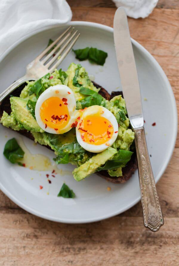 Fancy Avocado Toast with Egg