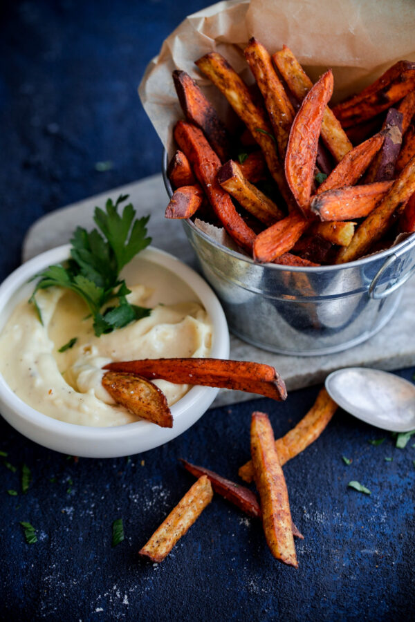 how to make baked seasoned fries