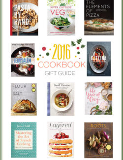 2016 Cookbook Gift Guide. With pairing gift ideas for the holidays!